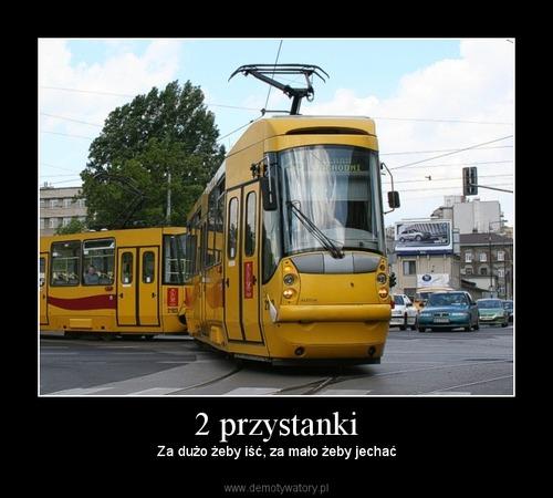 2 przystanki