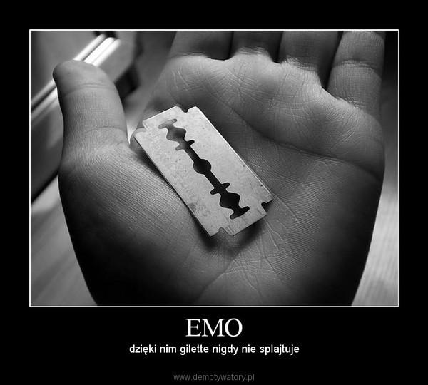EMO – dzięki nim gilette nigdy nie splajtuje