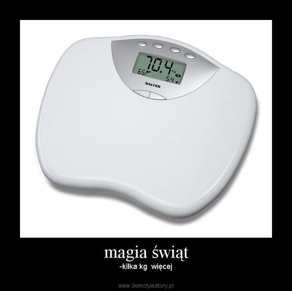 magia świąt – -kilka kg  więcej