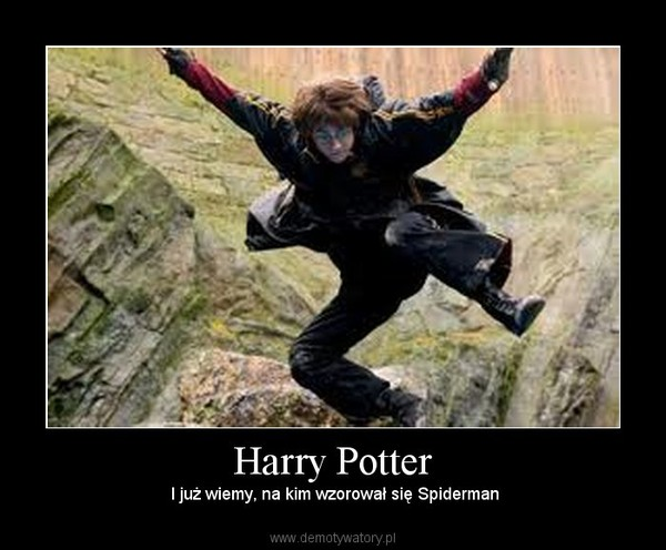 Harry Potter – I już wiemy, na kim wzorował się Spiderman
