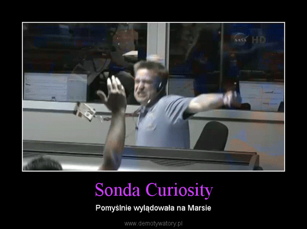 Sonda Curiosity – Pomyślnie wylądowała na Marsie