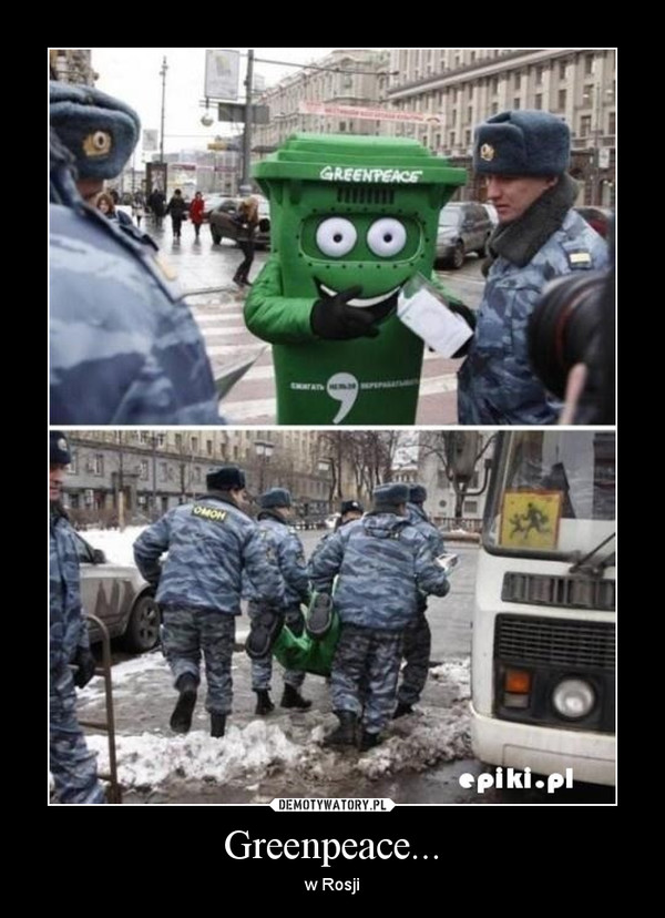 Greenpeace... – w Rosji