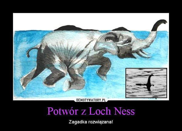 Potwór z Loch Ness – Zagadka rozwiązana!