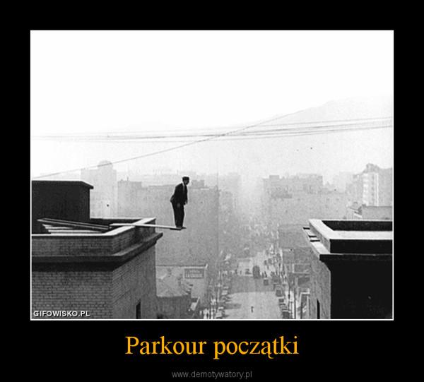 Randki parkour