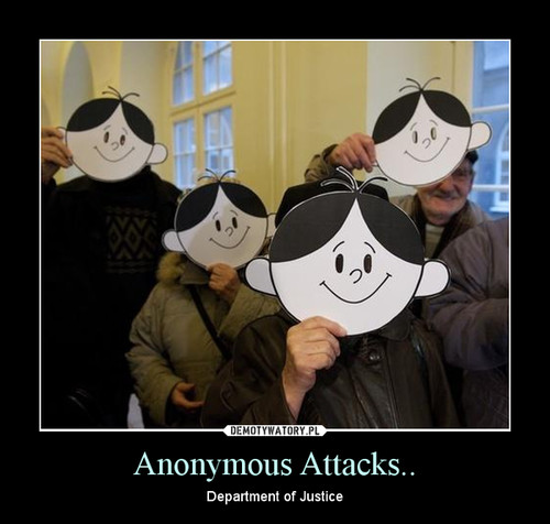 Anonymous Attacks..