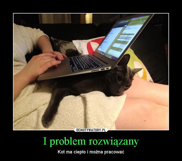 I problem rozwiązany – Kot ma ciepło i można pracować