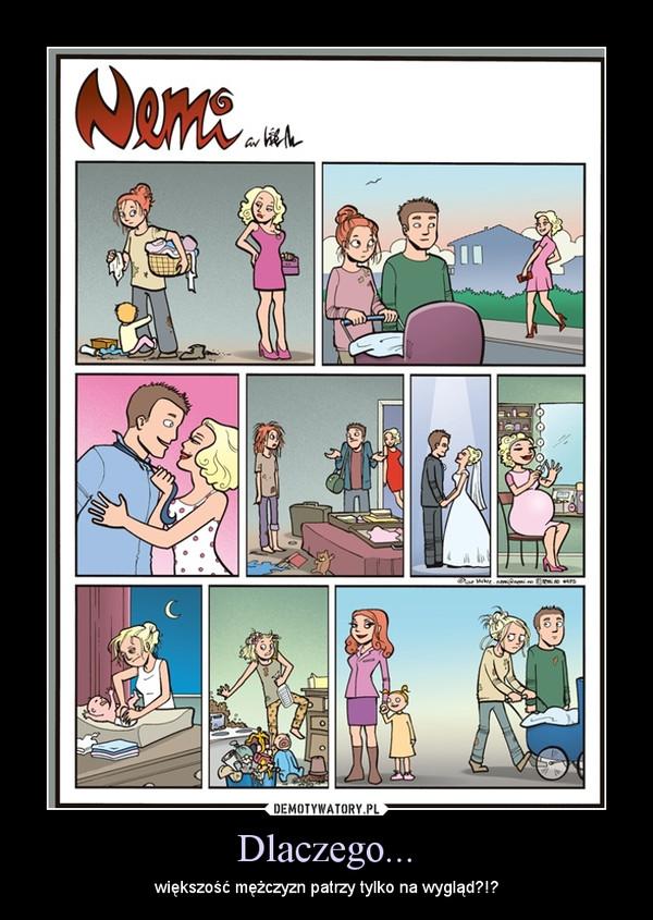 Dlaczego... – większość mężczyzn patrzy tylko na wygląd?!?