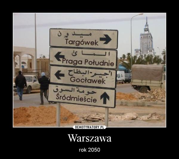 Warszawa – rok 2050