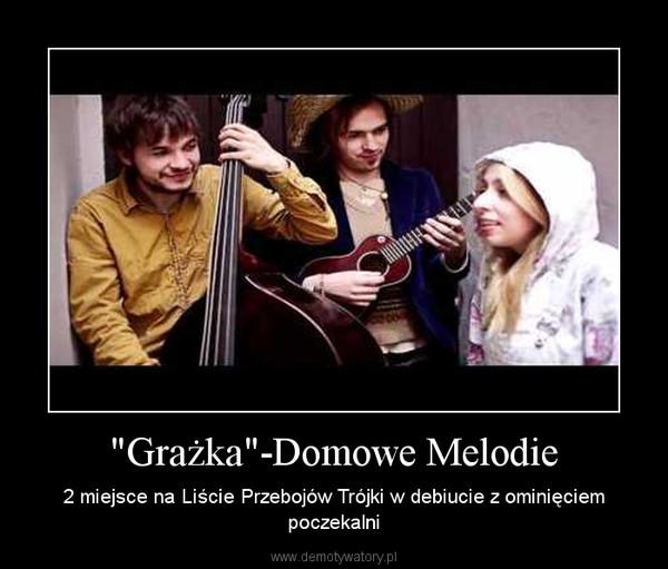 """""""Grażka""""-Domowe Melodie – 2 miejsce na Liście Przebojów Trójki w debiucie z ominięciem poczekalni"""
