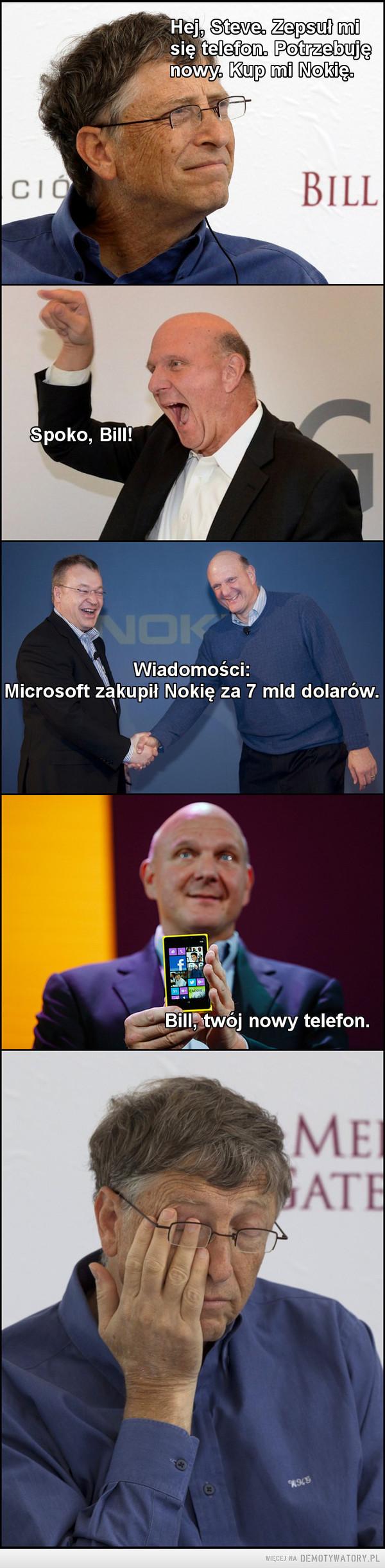 Prawda o tym jak Microsoft kupił Nokię –
