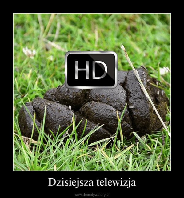 Dzisiejsza telewizja –
