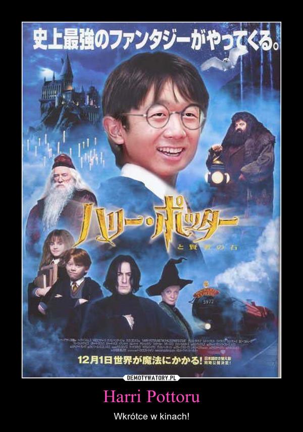 Harri Pottoru – Wkrótce w kinach!