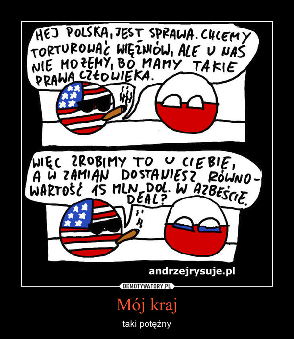 Mój kraj – taki potężny