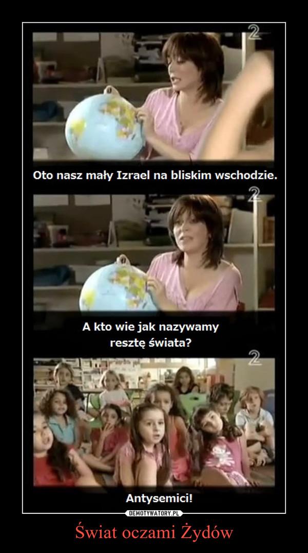 Świat oczami Żydów –