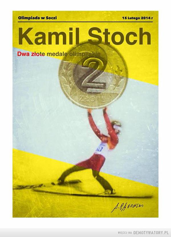 Złoty Kamil Stoch: –