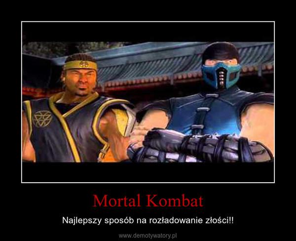 Mortal Kombat – Najlepszy sposób na rozładowanie złości!!