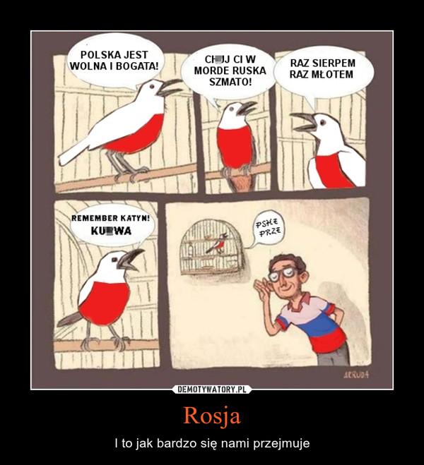 Rosja – I to jak bardzo się nami przejmuje