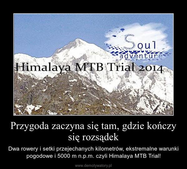 Przygoda zaczyna się tam, gdzie kończy się rozsądek – Dwa rowery i setki przejechanych kilometrów, ekstremalne warunki pogodowe i 5000 m n.p.m. czyli Himalaya MTB Trial!