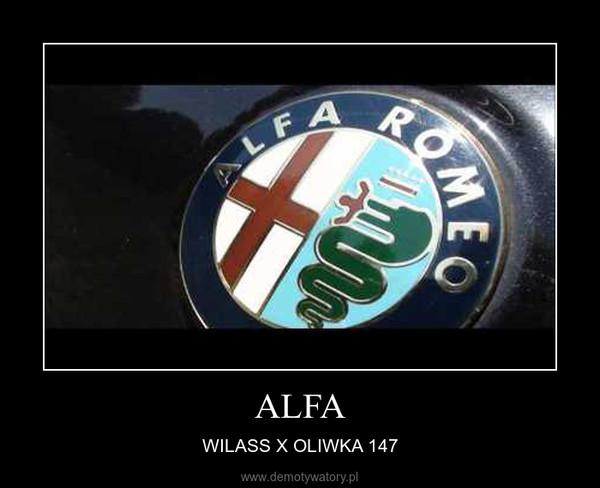 ALFA – WILASS X OLIWKA 147