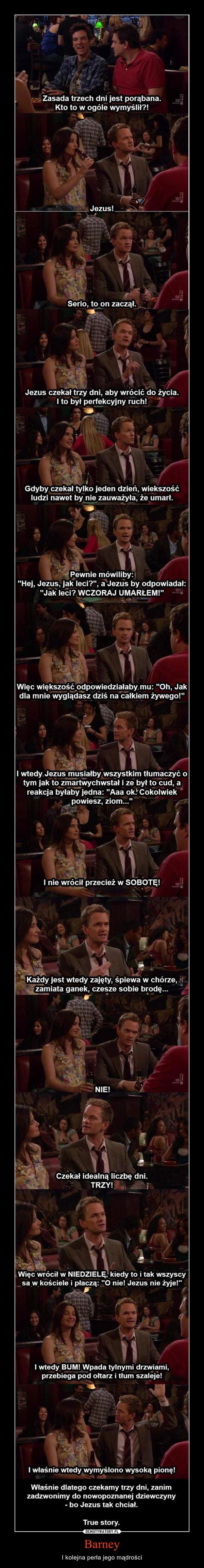 Barney – I kolejna perła jego mądrości