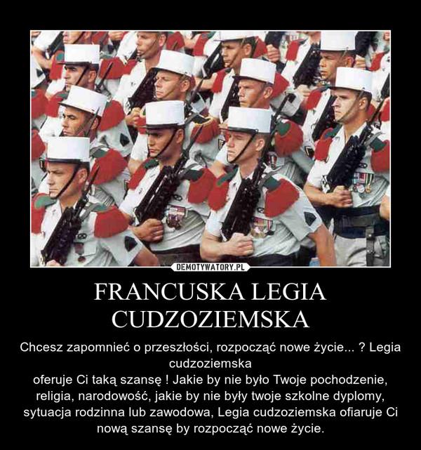 francuska legia cudzoziemska