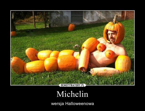 Michelin – wersja Halloweenowa