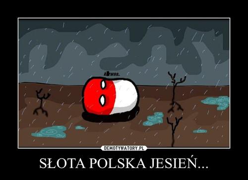 SŁOTA POLSKA JESIEŃ...
