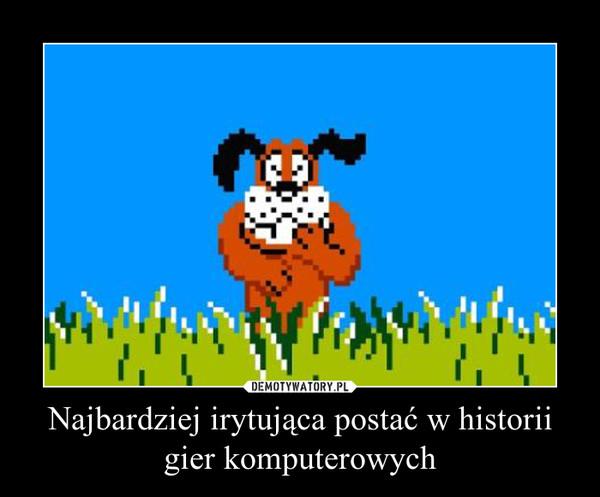 Najbardziej irytująca postać w historii gier komputerowych –