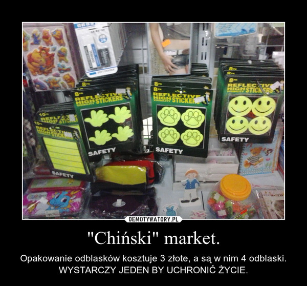 """Chiński"" market."