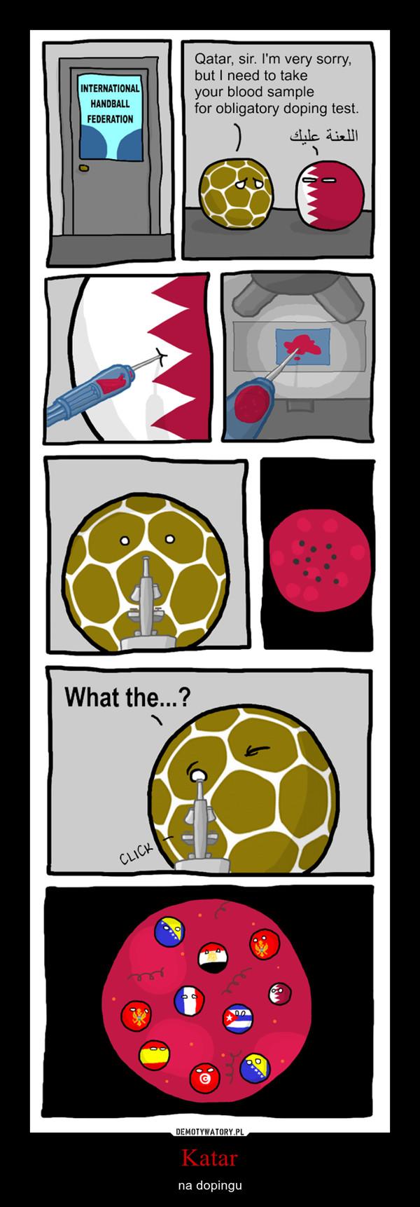 Katar – na dopingu