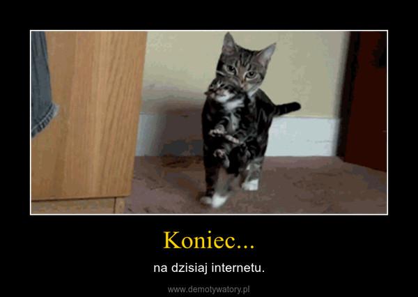 Koniec... – na dzisiaj internetu.