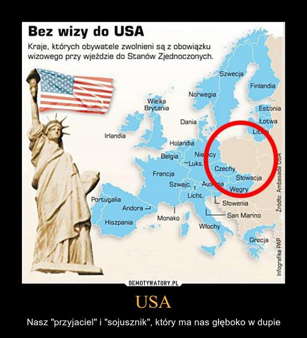 """USA – Nasz """"przyjaciel"""" i """"sojusznik"""", który ma nas głęboko w dupie"""
