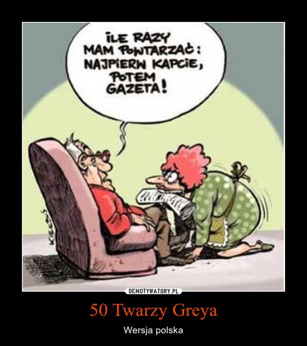 50 Twarzy Greya – Wersja polska