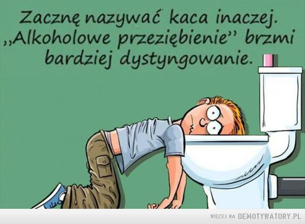 Alkoholowe przeziębienie –