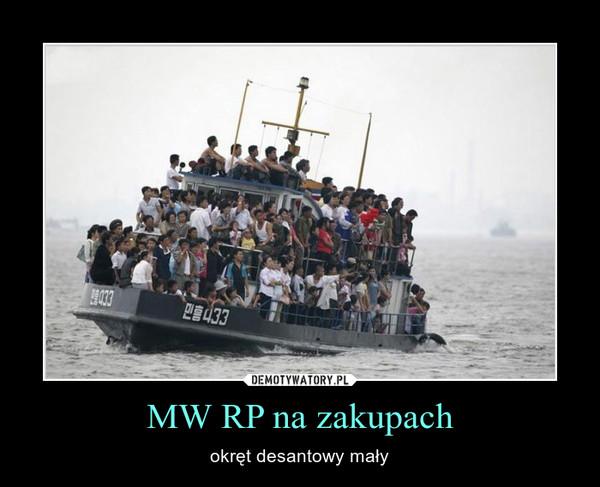 MW RP na zakupach – okręt desantowy mały
