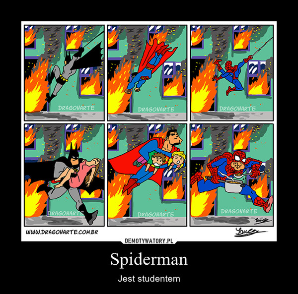Spiderman – Jest studentem