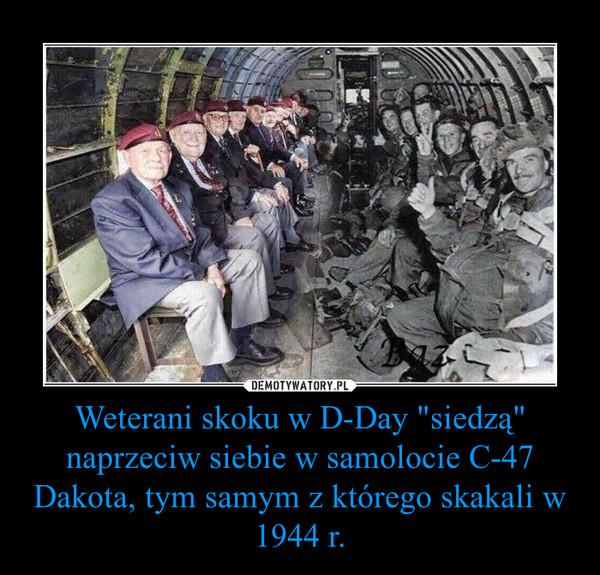 Weterani skoku w D-Day