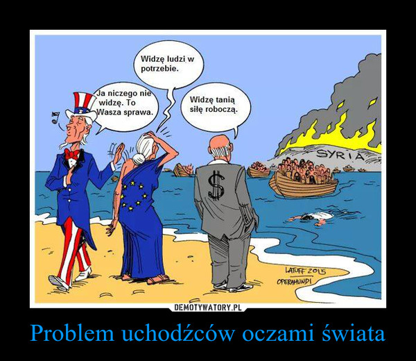 Problem uchodźców oczami świata –
