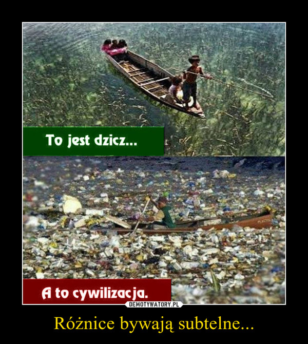 Różnice bywają subtelne... –