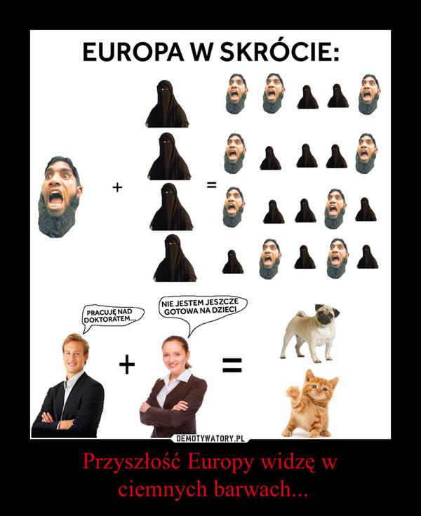 Przyszłość Europy widzę w ciemnych barwach... –