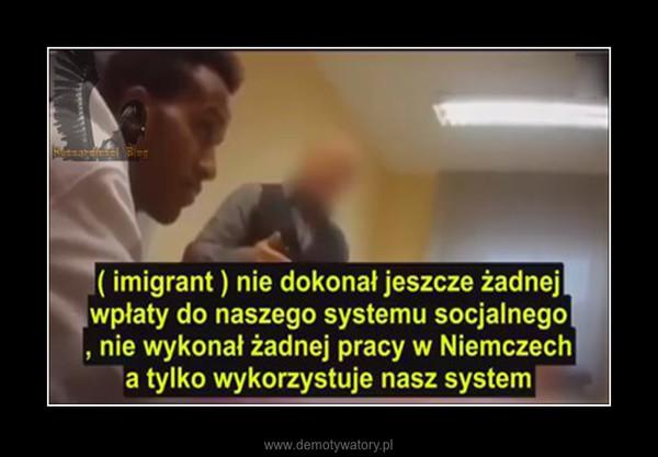 Kierownik Niemieckiego urzędu pokazuje jak powinno rozmawiać się z Imigrantami. –