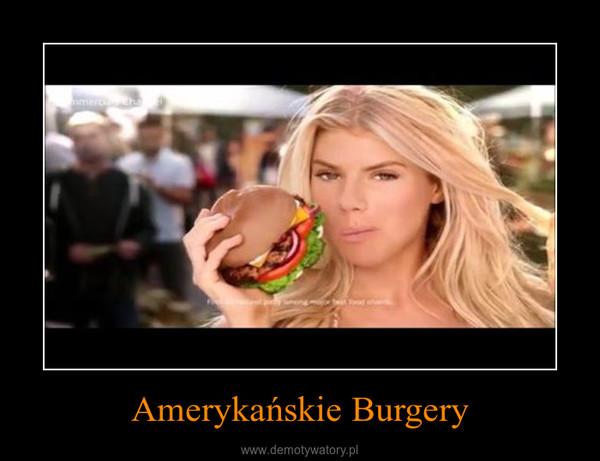 Amerykańskie Burgery –