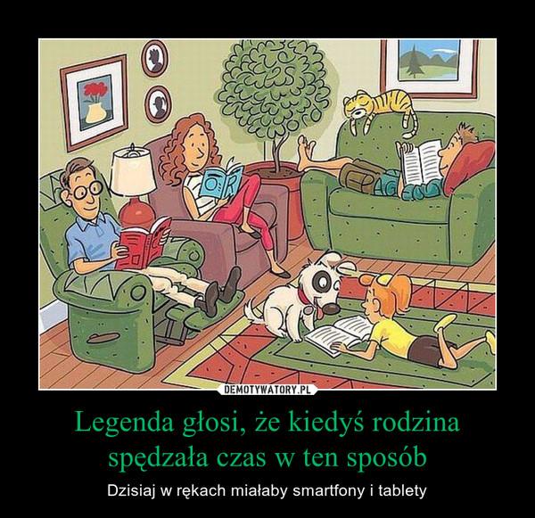 Legenda głosi, że kiedyś rodzina spędzała czas w ten sposób – Dzisiaj w rękach miałaby smartfony i tablety