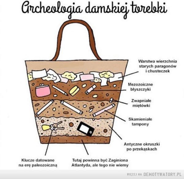 Jak wygląda zawartość damskiej torebki –
