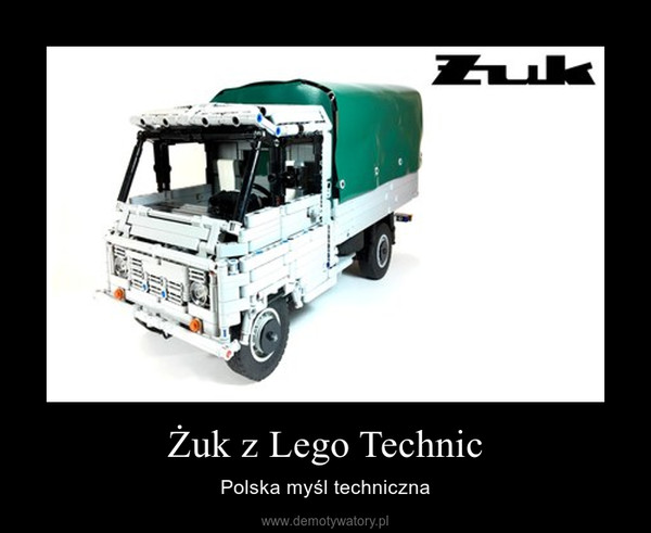 Żuk z Lego Technic – Polska myśl techniczna