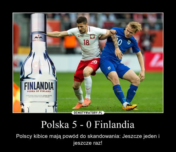Polska 5 - 0 Finlandia – Polscy kibice mają powód do skandowania: Jeszcze jeden i jeszcze raz!