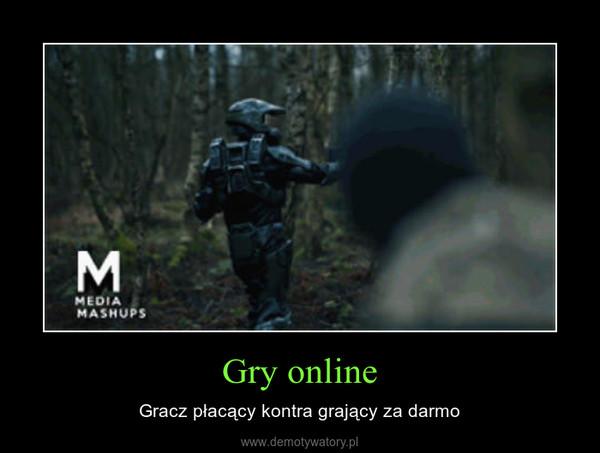 Gry online – Gracz płacący kontra grający za darmo