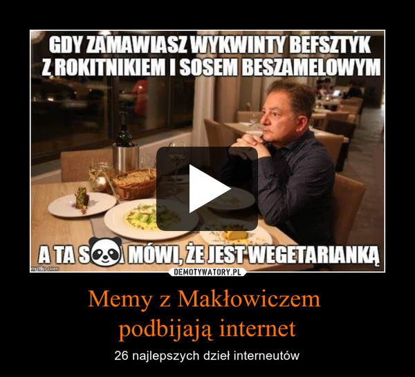 Memy z Makłowiczem podbijają internet – 26 najlepszych dzieł interneutów