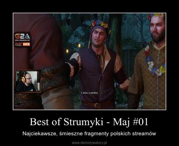 Best of Strumyki - Maj #01 – Najciekawsze, śmieszne fragmenty polskich streamów