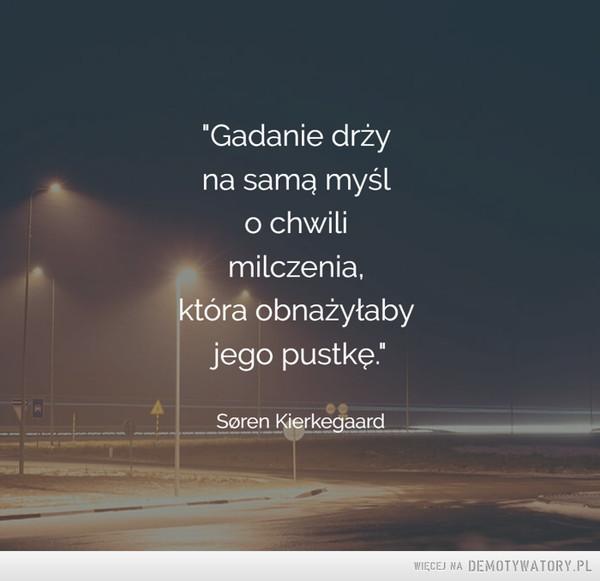 Søren Kierkegaard –